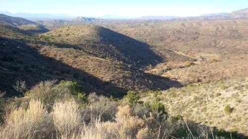 New Mexico between Alamogordo and Cloudcroft